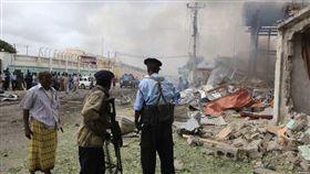 (圖/翻攝自推特)索馬利亞,青年黨,炸彈,恐攻