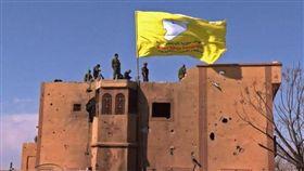 (圖/翻攝自推特)敘利亞,IS,哈里發國,庫德族