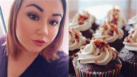 窒息,身亡,食物挑戰,嘴巴,棉花糖,蛋糕,英國,廁所 圖/翻攝自臉書、Pixabay