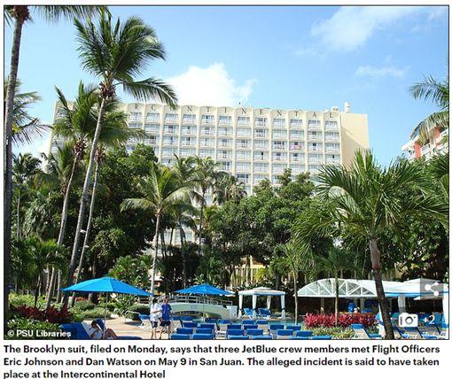 捷藍航空(JetBlue)機師對空姐下藥性侵得逞。(圖/翻攝Daily Mail)