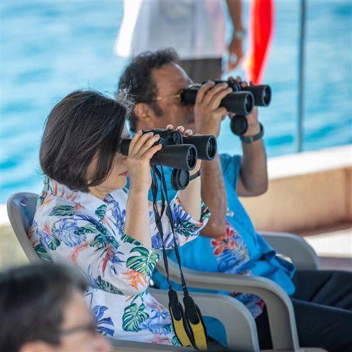 蔡英文總統與帛琉總統雷蒙傑索。(圖/翻攝蔡英文臉書)