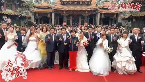大甲媽嫁女兒/翻攝自大甲鎮瀾宮臉書