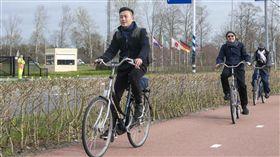 林智堅出訪荷蘭(新竹市政府提供)