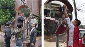 守護回家的安全路 青商會五千人擦亮兩千面反光鏡