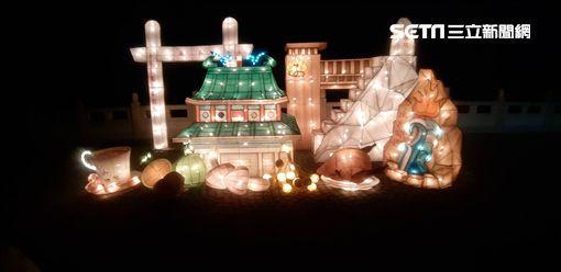 台南市觀光旅遊局,關嶺泉湧主題燈組,碧雲寺,關子嶺,桶仔雞,火山碧雲寺,花燈