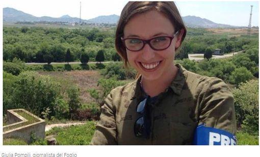 義大利女記者被中國官員恐嚇「停止對中國負面報導」。(圖/翻攝quotidiano日報)