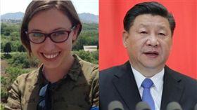 義大利女記者被中國官員恐嚇「停止對中國負面報導」。(圖/翻攝日報、新華網)
