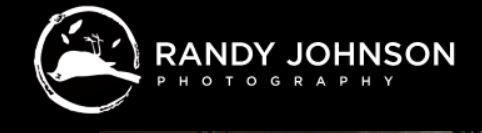 ▲強森所開設的攝影公司LOGO。(圖/翻攝自Randy Johnson Photography 網站)