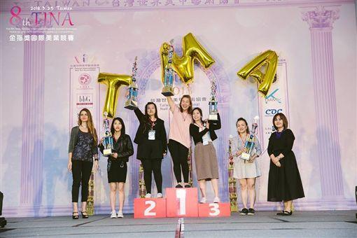 第九屆TINA國際美業競賽 八國菁英在台爭冠