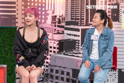 劉雨柔、經紀人小熊;小甜甜、經紀人阿湯《上班這黨事》 圖/TVBS提供