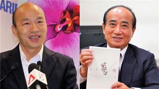 沈嶸表示2020韓國瑜挺的是王金平。(圖/翻攝自臉書)
