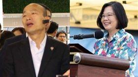 拷秋勤,蔡英文,出訪,韓國瑜,中國 圖/高市府提供 總統府提供