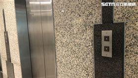 電梯、按電梯示意圖
