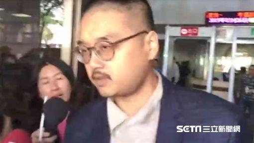 黃琪,律師,郭上維。翻攝畫面