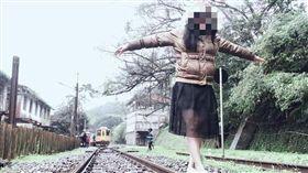 網美,鐵道,鐵路法,平溪/翻攝臉書