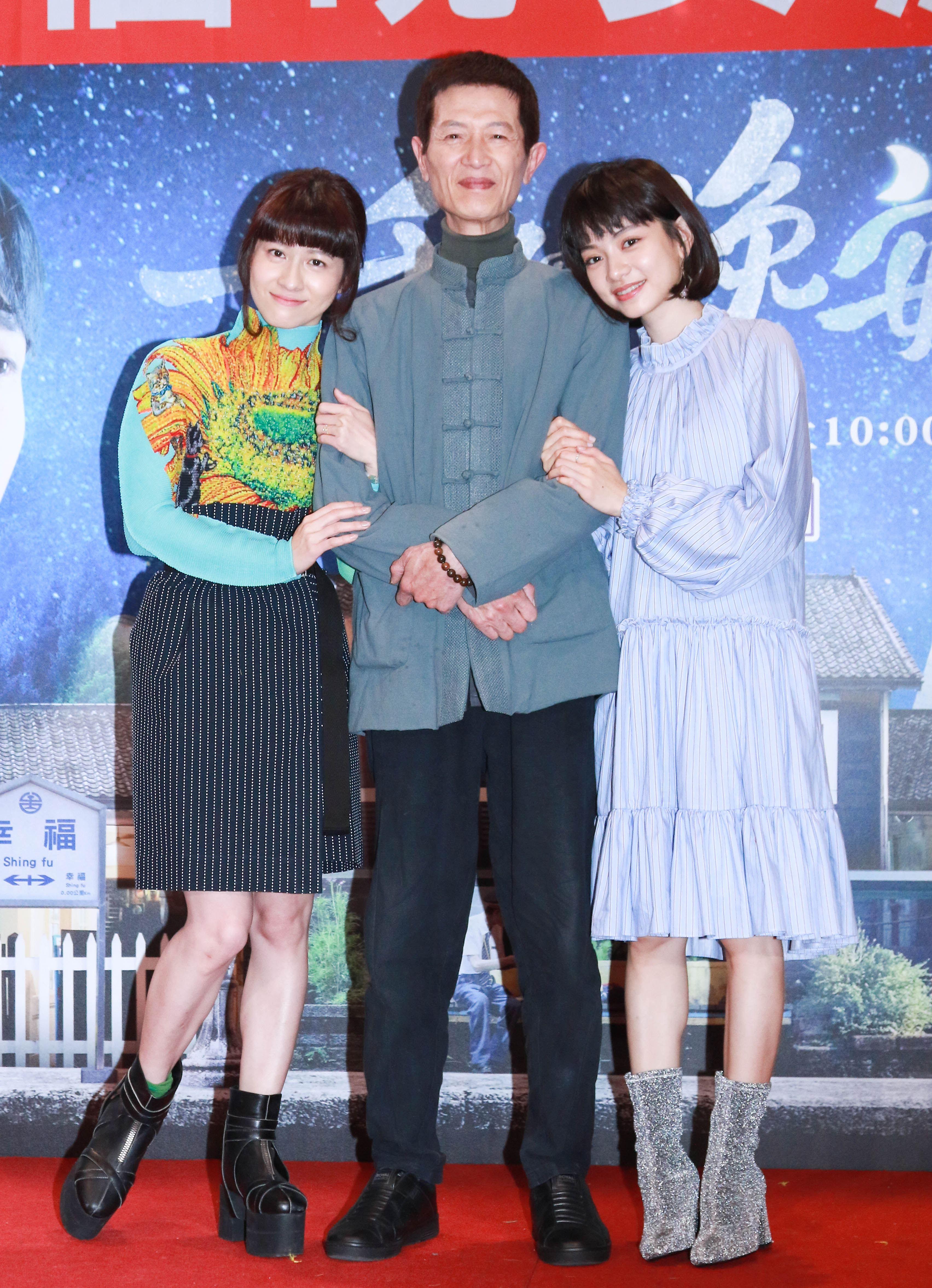 《一千個晚安》同歡會,連俞涵、陳博正、姚愛甯。(記者林士傑/攝影)
