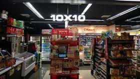 OK,消費,店中店,超商。(圖/記者馮珮汶攝)
