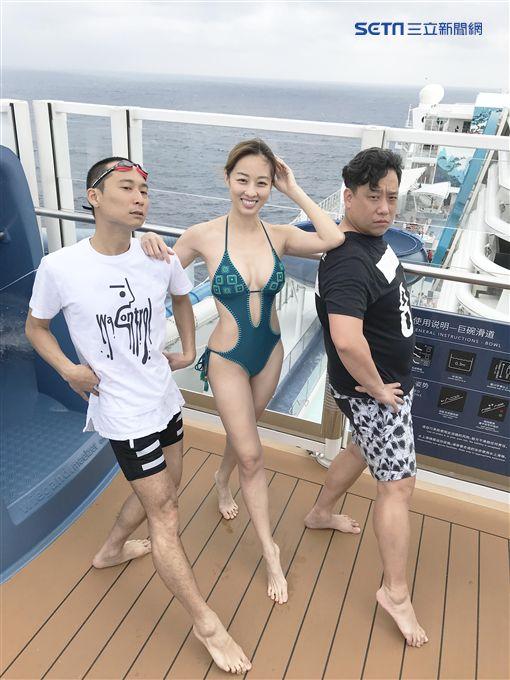 夏語心、浩子、阿龐《綜藝新時代》 圖/民視提供