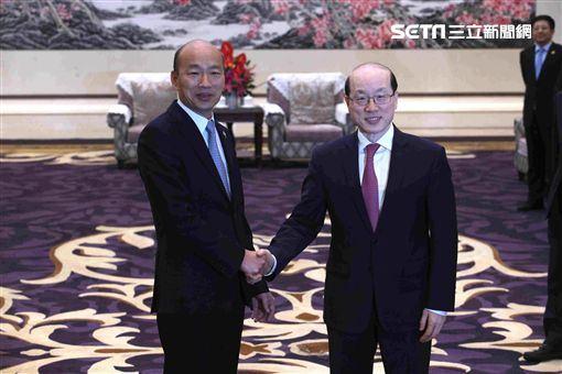 韓國瑜會見劉結一,高雄市政府