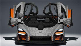 ▲Lego版McLaren Senna。(圖/翻攝網站)