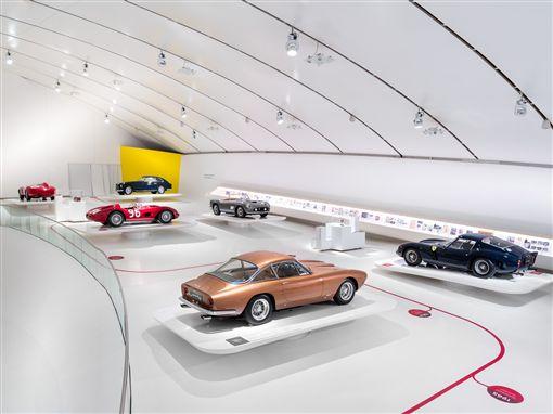 ▲「永恆的傑作」展覽館。(圖/Ferrari提供)
