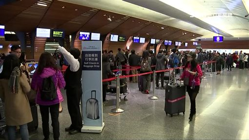 -機場-出國-旅客-