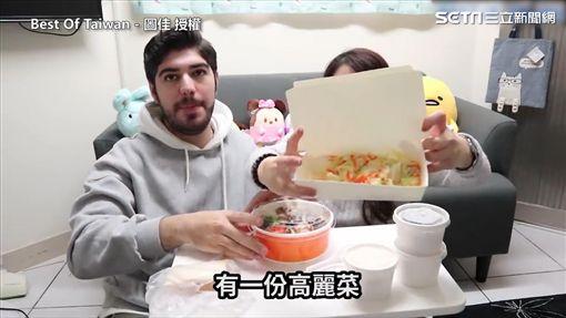 牛排館還很有誠意附上一整盒的高麗菜。(圖/「Best Of Taiwan - 圖佳」 授權)