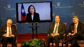 蔡總統與傳統基金會視訊對話