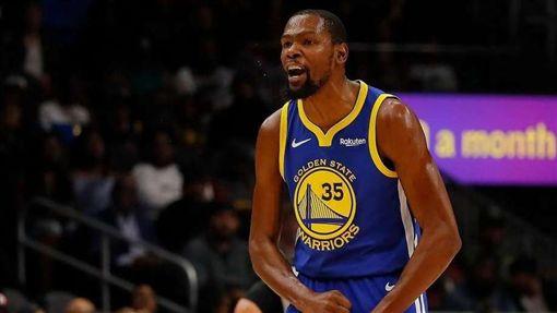 NBA/KD超火燙!勇士客場勝灰熊NBA,金州勇士,Kevin Durant翻攝自推特