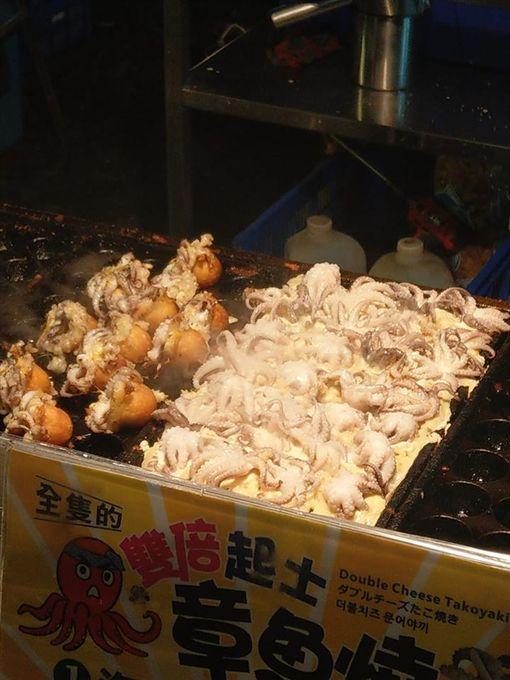 章魚燒,整隻章魚,評價 (圖/爆廢公社)