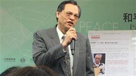 ▲陸委會主委陳明通。(圖/記者林仕祥攝)