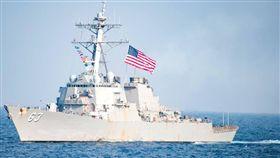不顧北京反對 兩美艦昨再度穿越台海(圖/翻攝自USS Stethem DDG 63臉書)