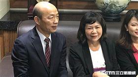 ▲韓國瑜拜會高雄市議會(圖/記者林昱孜攝影)