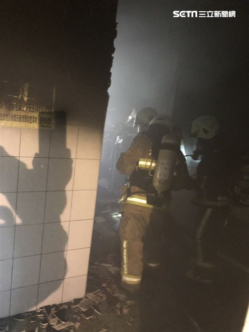 火警,國中,教學大樓,高雄,左營,疏散,學生