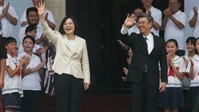 總統府,520,就職,總統,蔡英文,副總統,陳建仁 圖/台北市攝影記者聯誼會提供