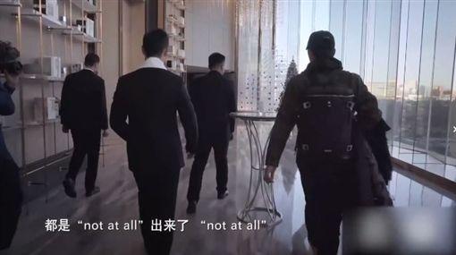 黃曉明/翻攝自新浪綜藝微博