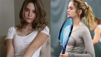 14歲網球少女登表特 網激讚:仙女