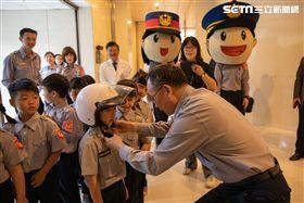 警政署,陳家欽,兒童節,護童,小小警察體驗營