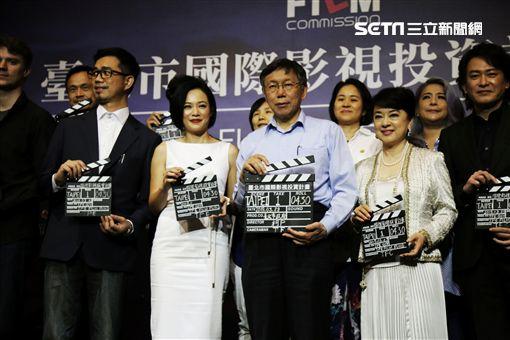 翁倩玉宣布返台拍片。(圖/台北市電影委員會提供)
