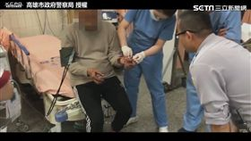 巡邏突遇老翁血流如注 熱血警開道急救命