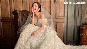 《炮仔聲》陳志強和王宇婕在劇中舉行婚禮/婚紗。