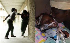 美國,10歲女童萊特(Raniya Wright)在小學教室打架傷重不治(圖/翻攝自推特)