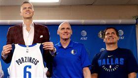 NBA/震驚!獨行俠球星涉「強暴」 NBA,達拉斯獨行俠,紐約尼克,Kristaps Porzingis 翻攝自推特