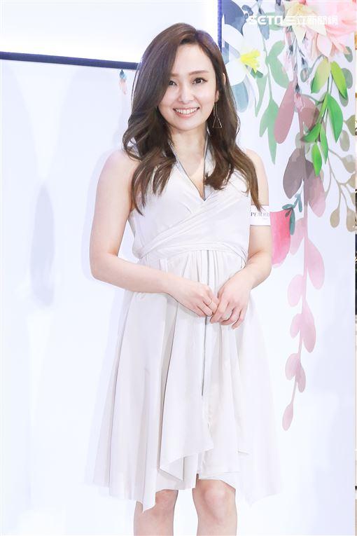 日籍女星千田愛紗出席內衣品牌活動。(記者林士傑/攝影)