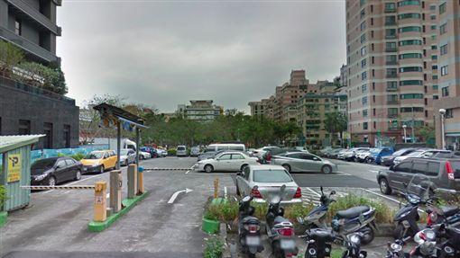 松勇路53巷,最貴回收場,停車場,豪宅。翻攝Google Map