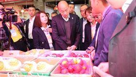 高雄市長,韓國瑜,民進黨,賣台,賣菜郎,小紅帽 圖/翻攝自韓國瑜臉書