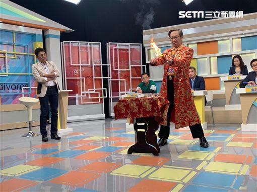 謝震武、退休警官高仁和、魔術師傑克圖/高點電視台提供