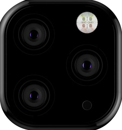 蘋果,iPhone,愛瘋,三鏡頭,浴霸圖/翻攝自推特、快科技
