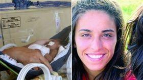 痛苦的喜悅!懷有19周身孕醫宣判腦死 生完寶寶隔天葬禮。(翻攝自《O DIA》網站)