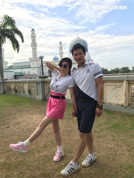 陳國華及Ivy飛到馬來西亞沙巴《嗨!LET'S GO 3》 圖/亞洲旅遊台提供